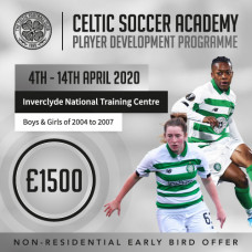 Player Development Programme- April 2020